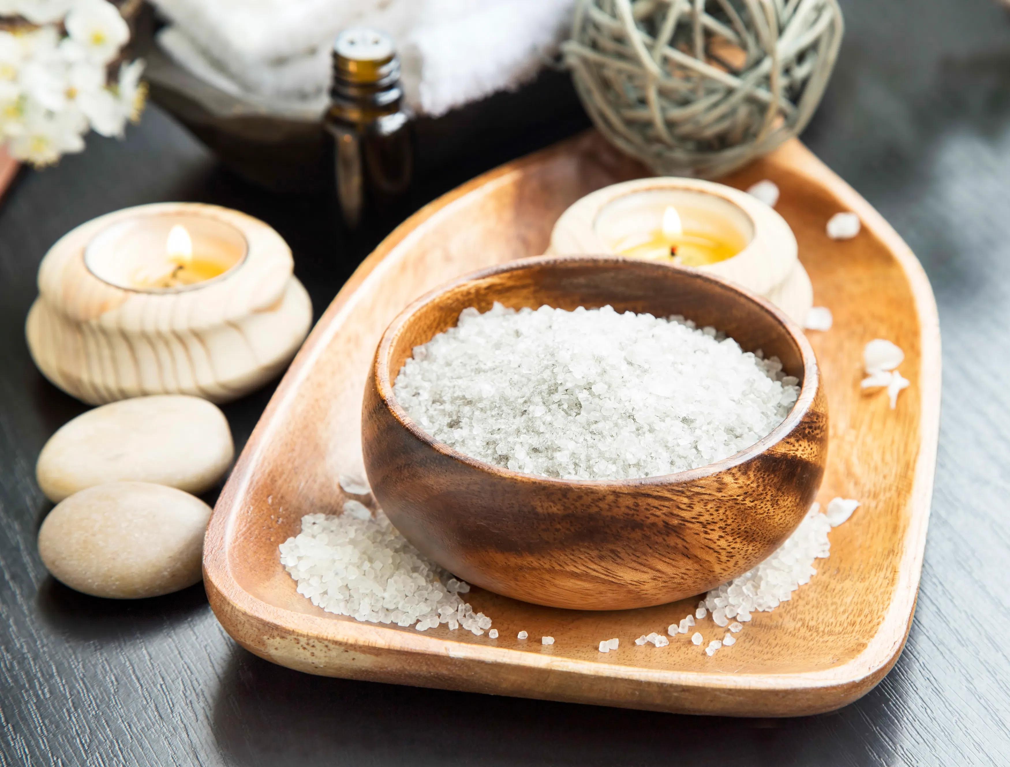 солевые скрабы